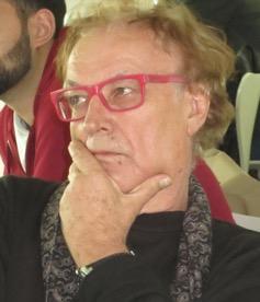 Lordan Zafranović watching his 'Zalazak stoljeća. Testament L.Z.' Foto by Nataša Mišković.